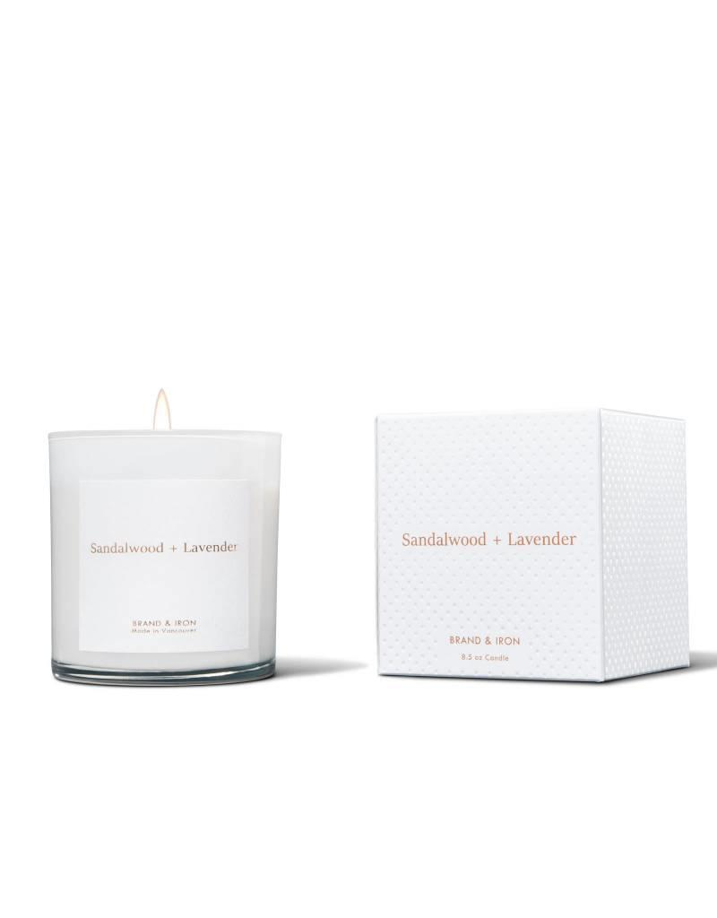 Brand & Iron Home Series Sandalwood and Lavender