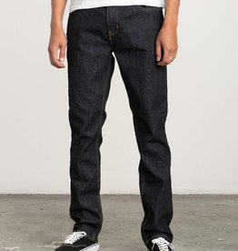RVCA Daggers Denim Slim, Dark Indigo