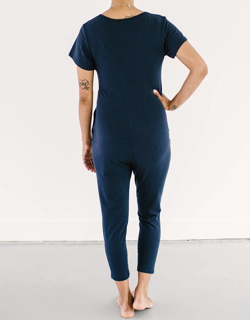 "Smash + TESS ""Sunday"" Romper NAVY"