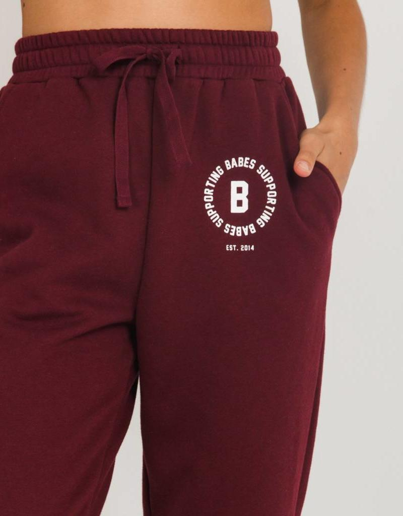 BRUNETTE  the label Roll Cuff Joggers, Babes
