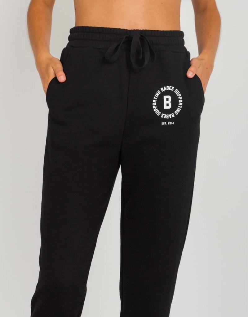 BRUNETTE  the label Rolled Cuff Joggers, Babes