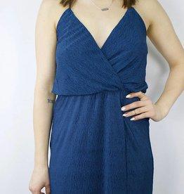 LUSH Surplice Maxi Dress, TEAL
