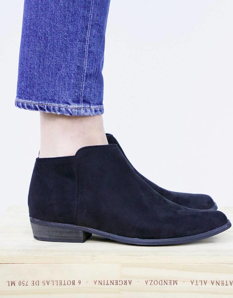 PINK MARTINI Suede Ankle Boots