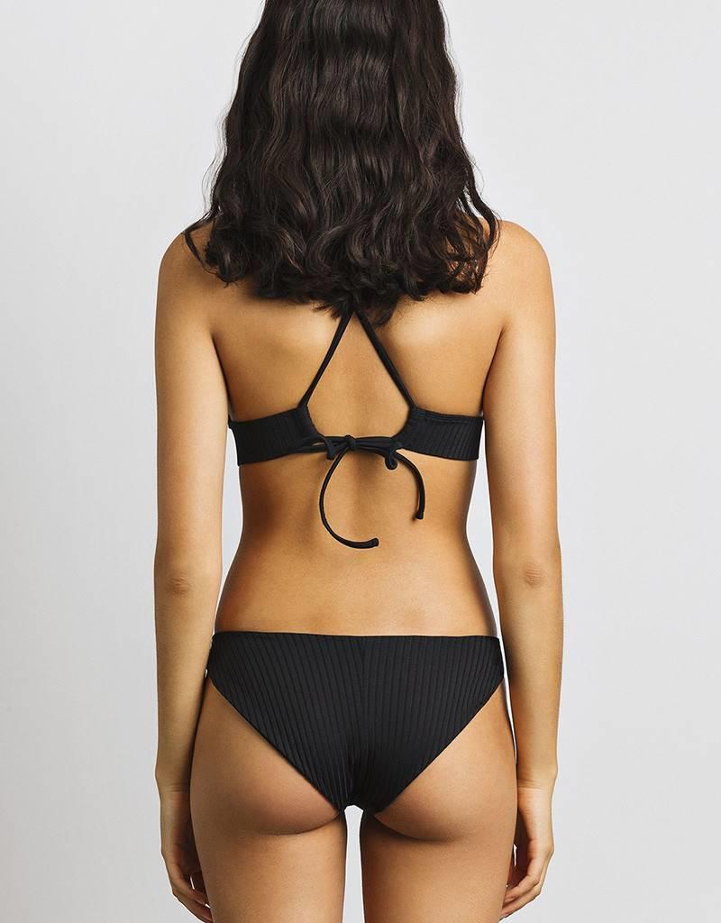 JUNE Swimwear Nora Textured Bikini Top