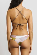 JUNE Swimwear Reversible Bikini Bottom MOZIAC