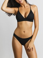 JUNE Swimwear Olivia Bikini Bottom ONYX