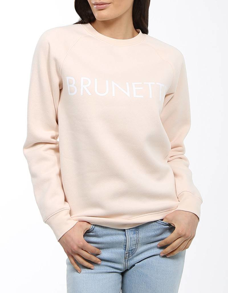 BRUNETTE  the label Brunette Crew PEACH