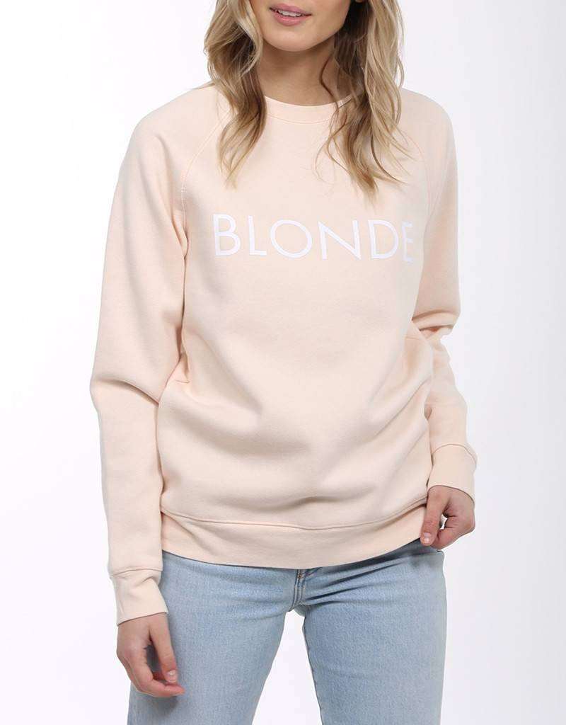 BRUNETTE  the label Blonde Crew PEACH