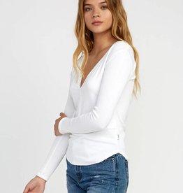 RVCA Long Sleeve Snap Shirt