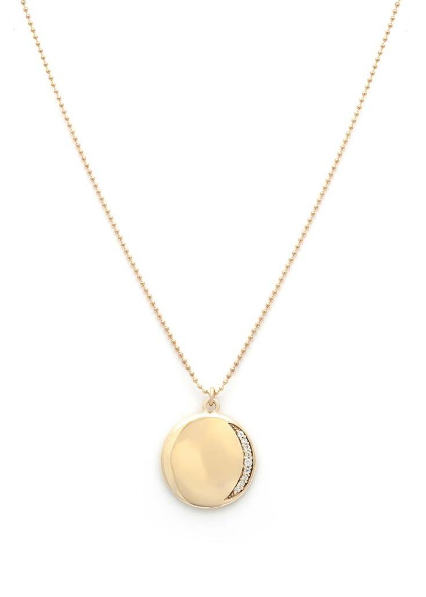 LEAH ALEXANDRA Leahlax ECLIPSE necklace, GOLD