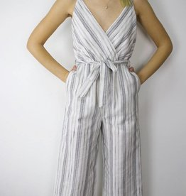 LeBLANC finds Stripe Surplice Romper