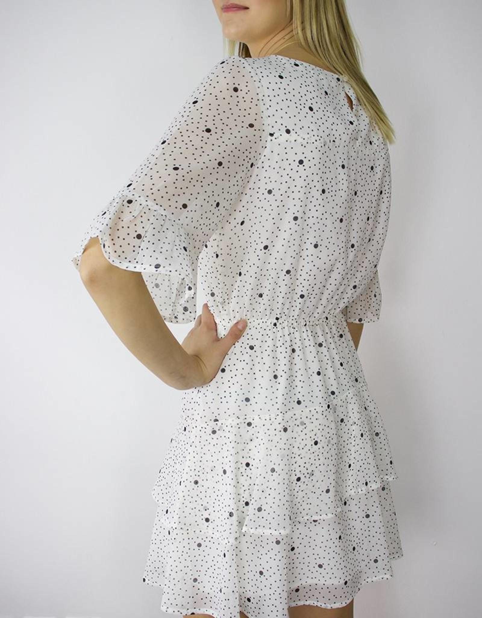 BB DAKOTA Dots on Dots Dress