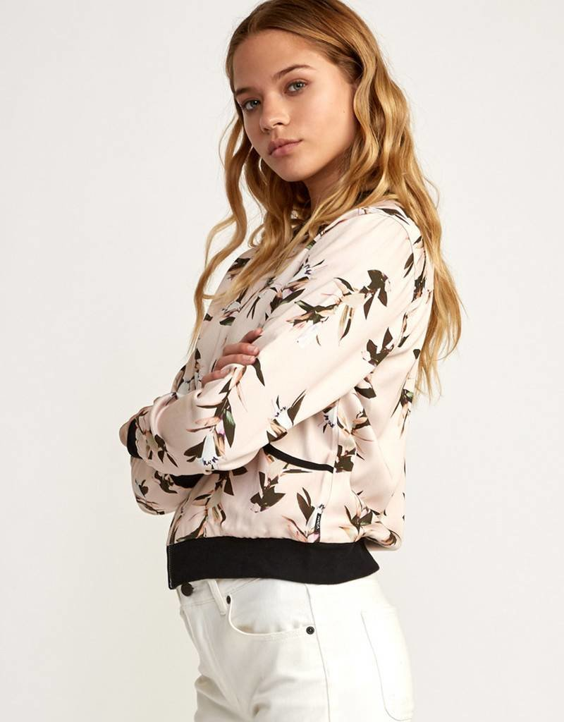 RVCA Reversible Floral Bomber