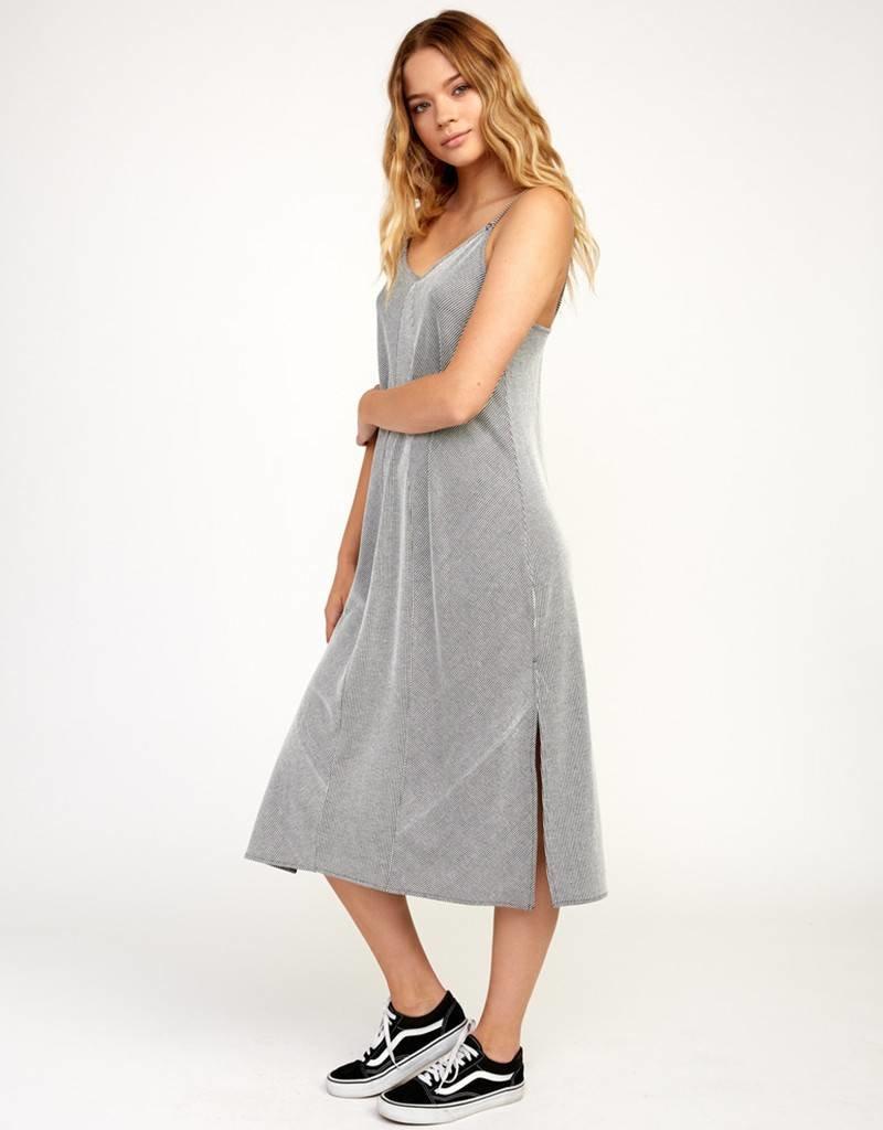 RVCA Striped Layla Dress