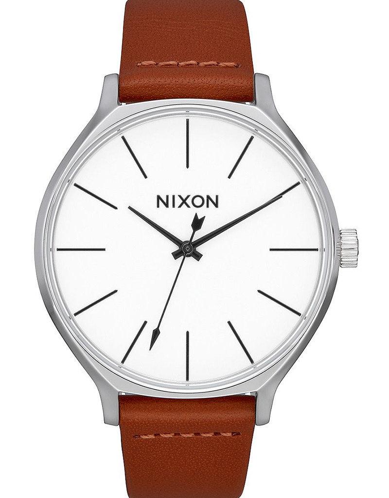 NIXON Clique Leather Watch