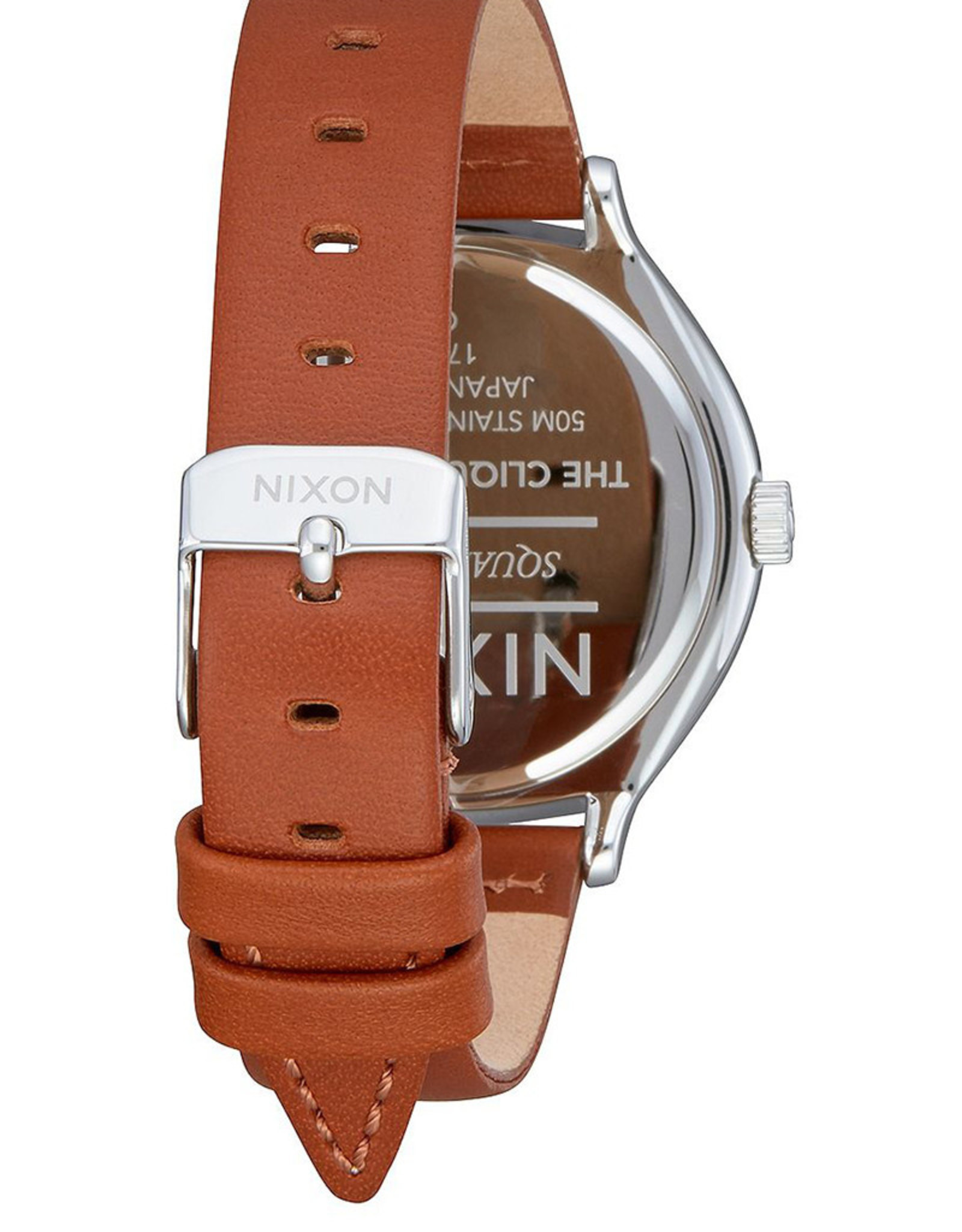 NIXON Clique Leather Watch