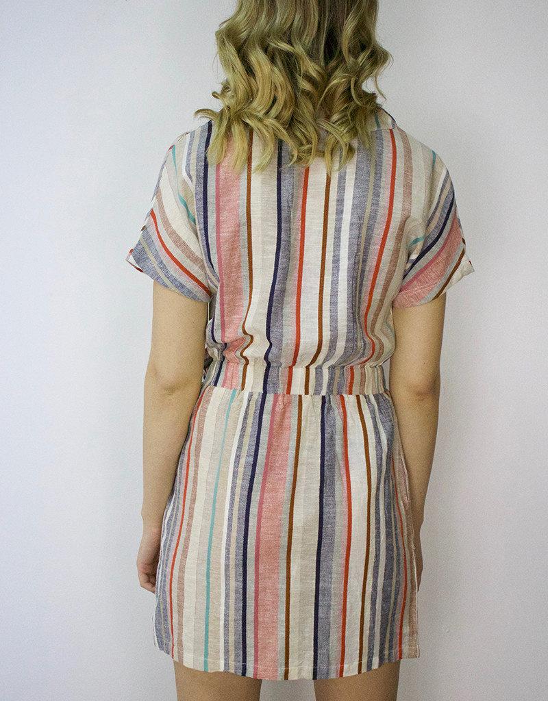 RD STYLE Colour Stripe Dress