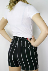 RD STYLE High Rise Stripe Short