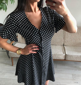 LeBLANC finds Polka Dot Button Dress