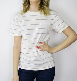 "LeBLANC finds ""Hudson"" Stripe Tee"
