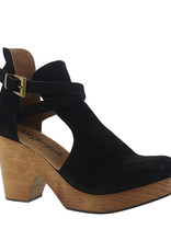 FREE PEOPLE Cedar Clog, Black Suede