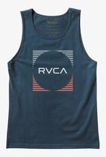 RVCA Stripe Sleeveless Tank