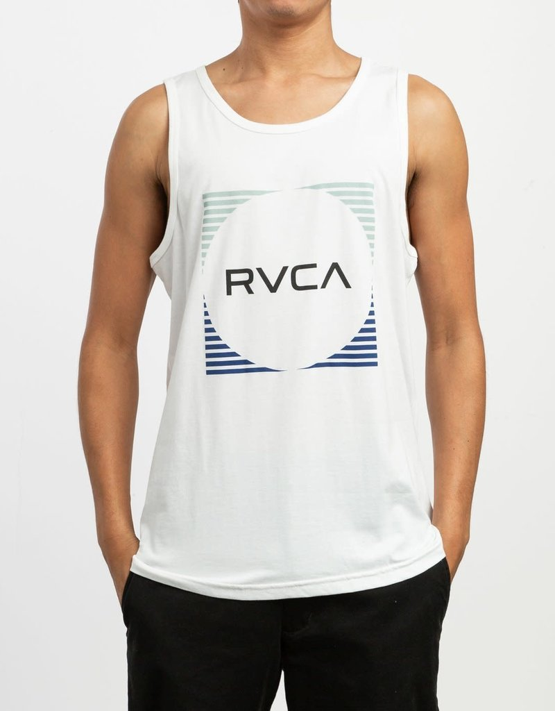 RVCA Stripe Sleeveless Tank