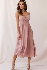 50% OFF, Blush pleated dress