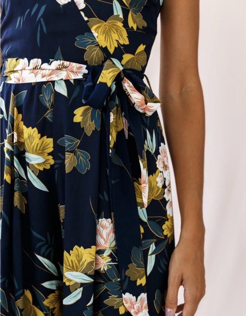 SELFIE LESLIE Floral Jumpsuit