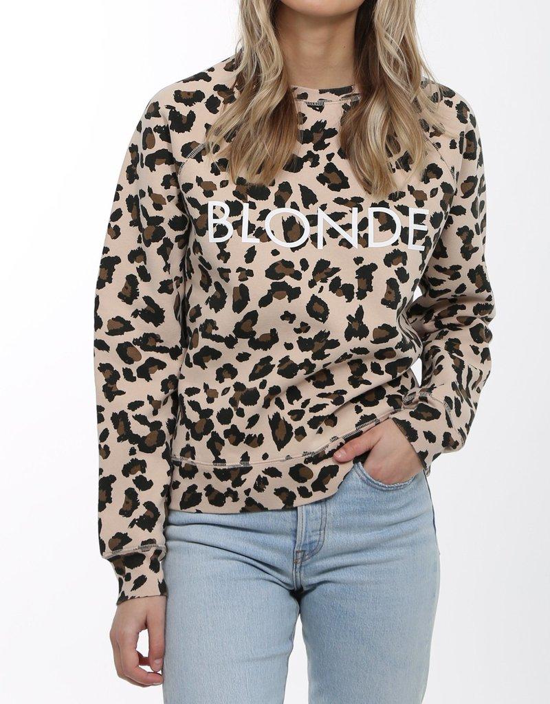 BRUNETTE  the label Blonde Leopard Crew
