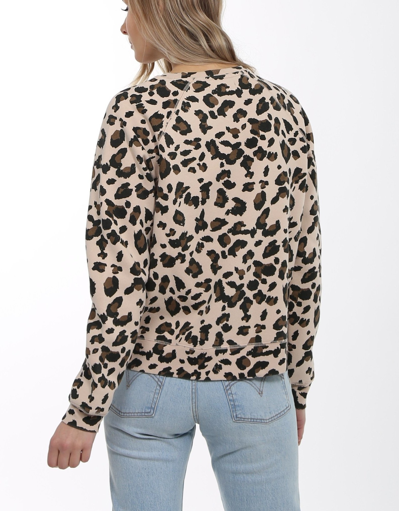 BRUNETTE  the label Blonde Leopard Crew