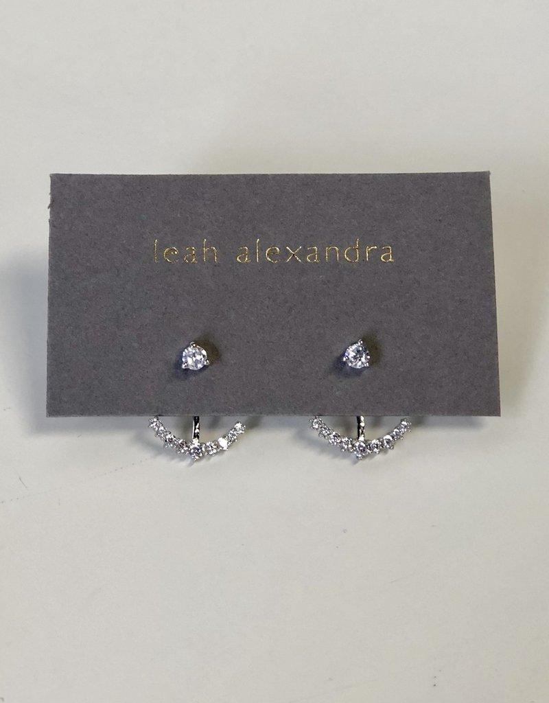 LEAH ALEXANDRA Skimmer Jackets, Silver