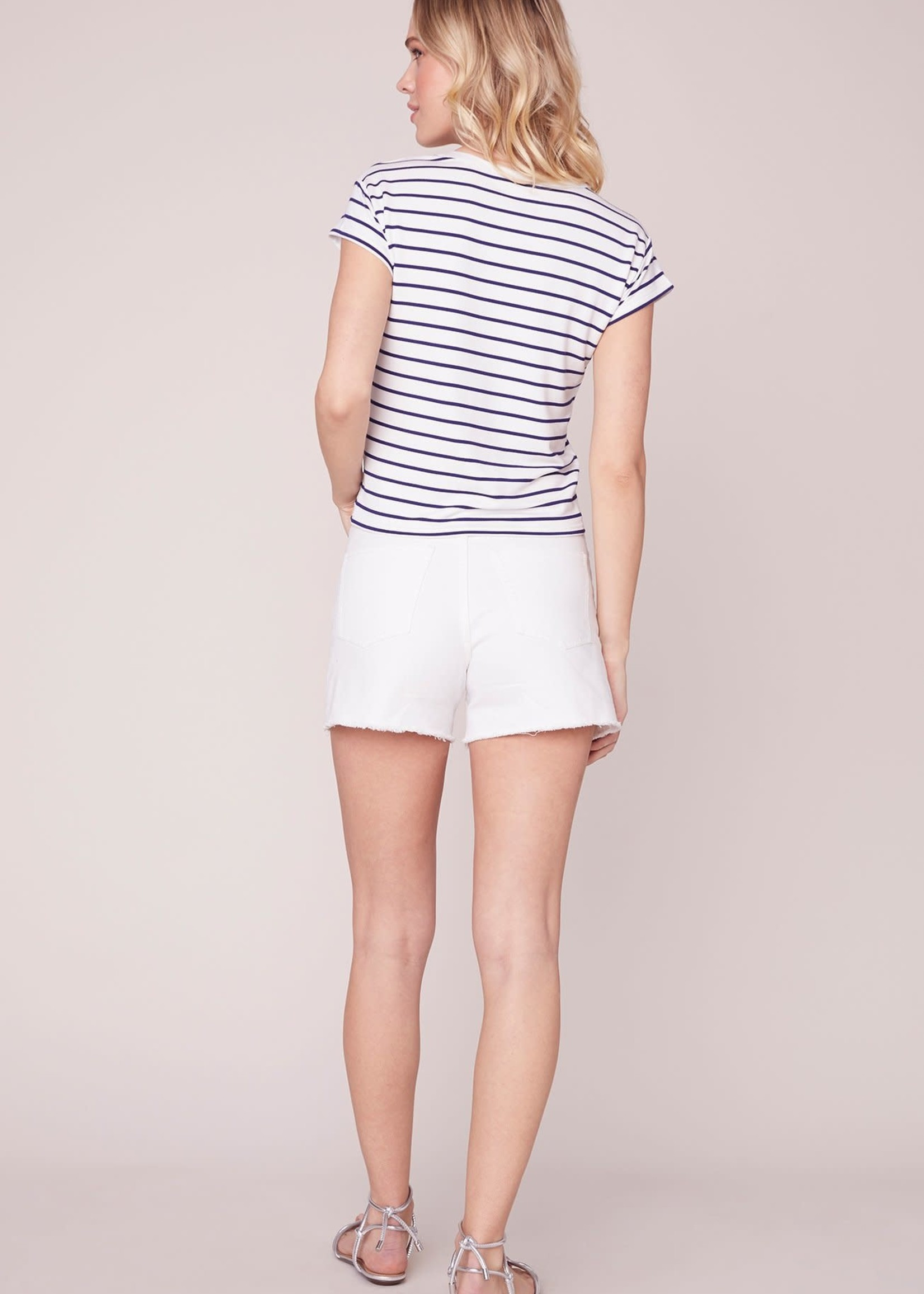 Stripes Ahoy Tee