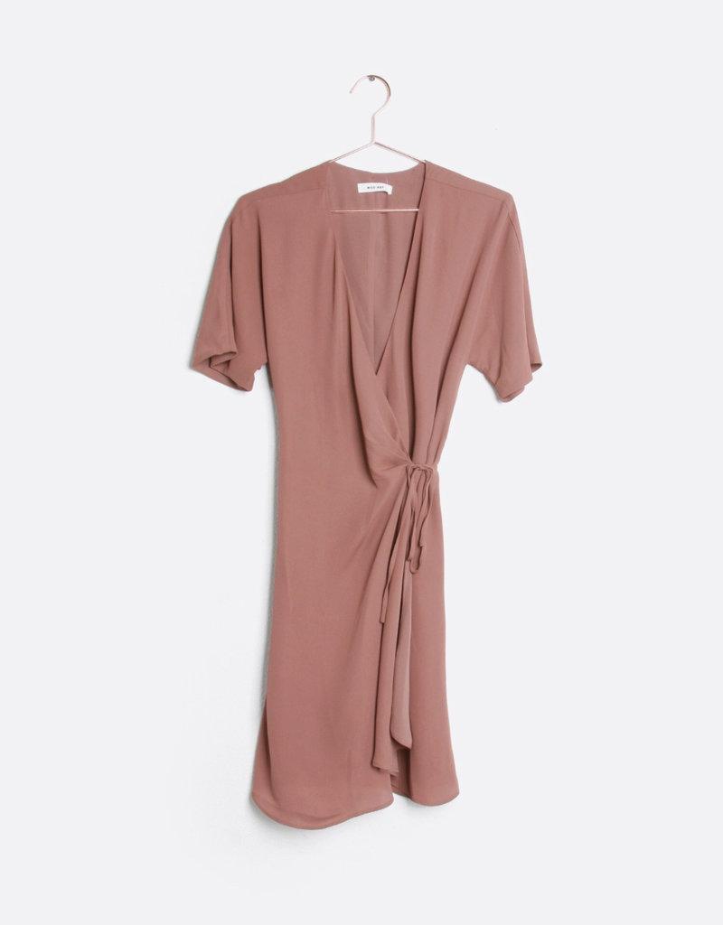 """MOD REF """"Port""""  Wrap Dress"""