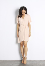 MOD REF Port Wrap Dress, BLUSH