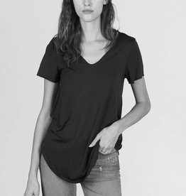 MOD REF Everyday modal tee, BLACK