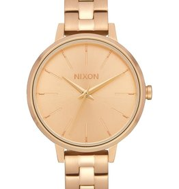 NIXON Medium Kensington Watch, GOLD