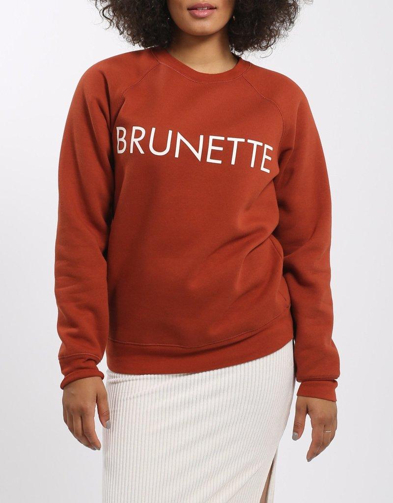 BRUNETTE  the label Brunette Crew