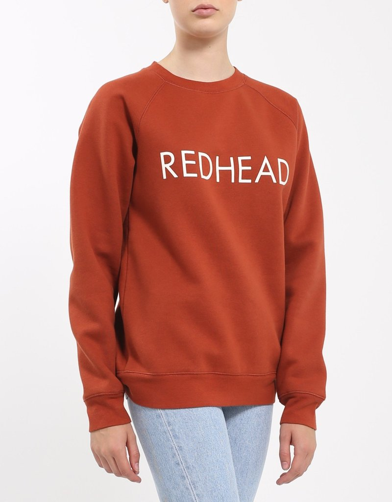 BRUNETTE  the label Redhead Crew