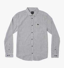 RVCA Seersucker Striped Dress Shirt