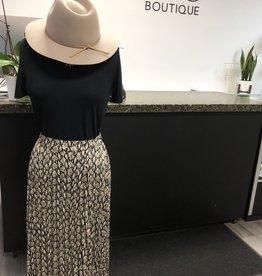 LUSH Python Midi Skirt