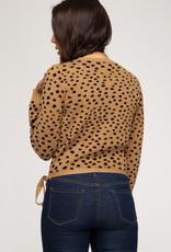 LeBLANC finds Surplice Sweater