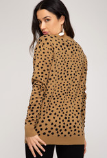 LeBLANC finds Animal Print Sweater