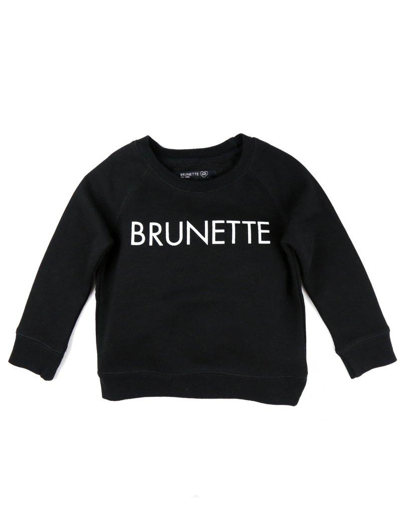 BRUNETTE  the label Little BABES Crew, BRUNETTE
