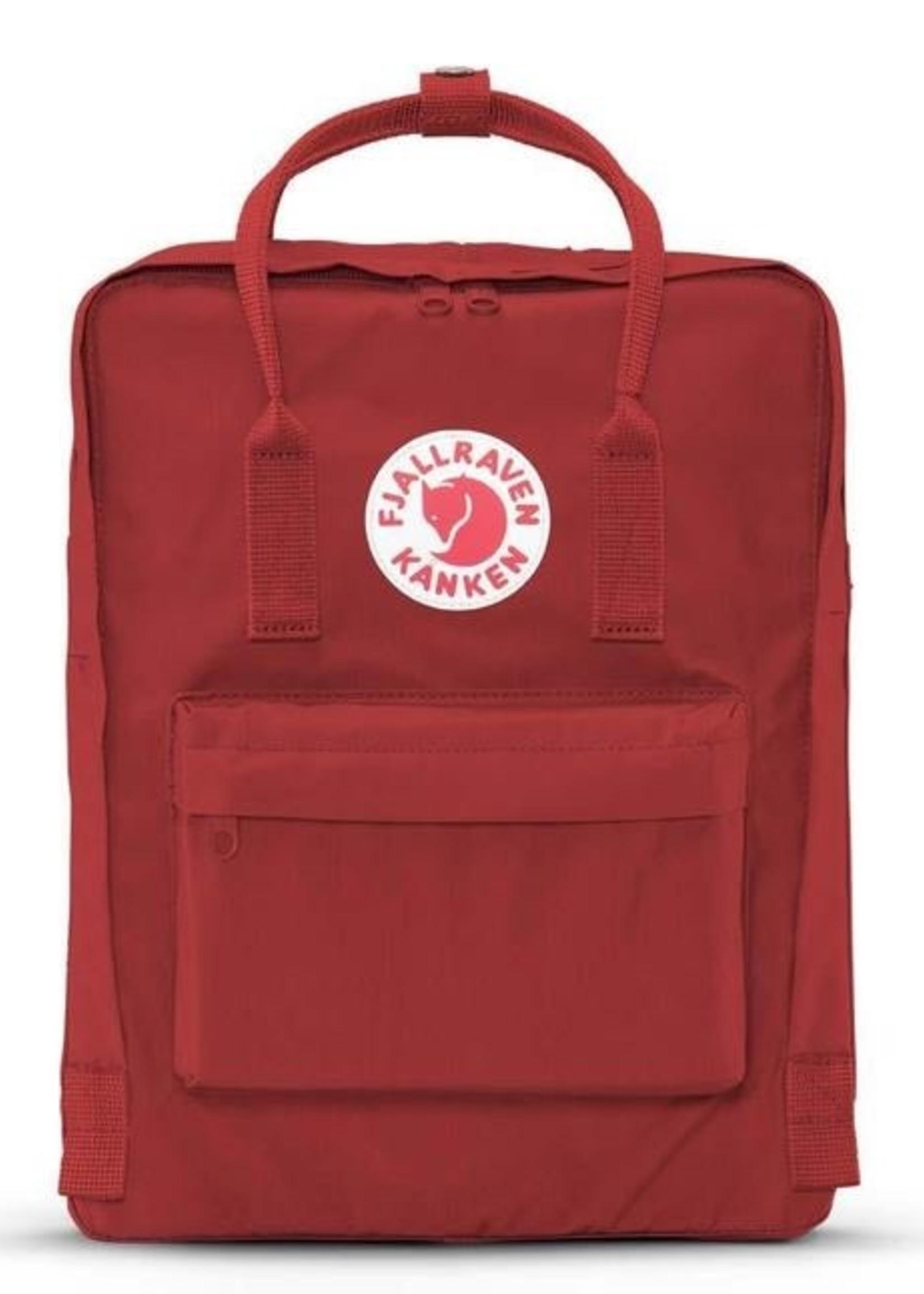 FJALL RAVEN Kanken Backpack DEEP RED