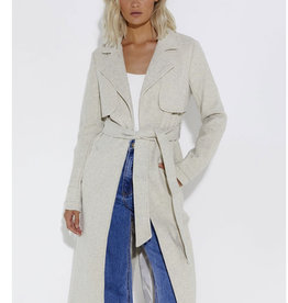 SNDYS South Coat, Soft Grey