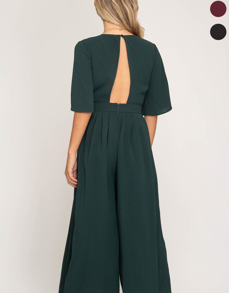 LeBLANC finds Wide Leg Jumpsuit