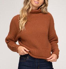LeBLANC finds CINNAMON Sweater