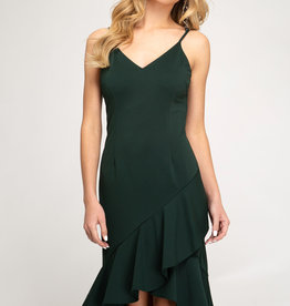 Cami Flounce Dress