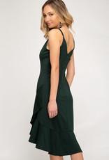 Cami Flounce Dress